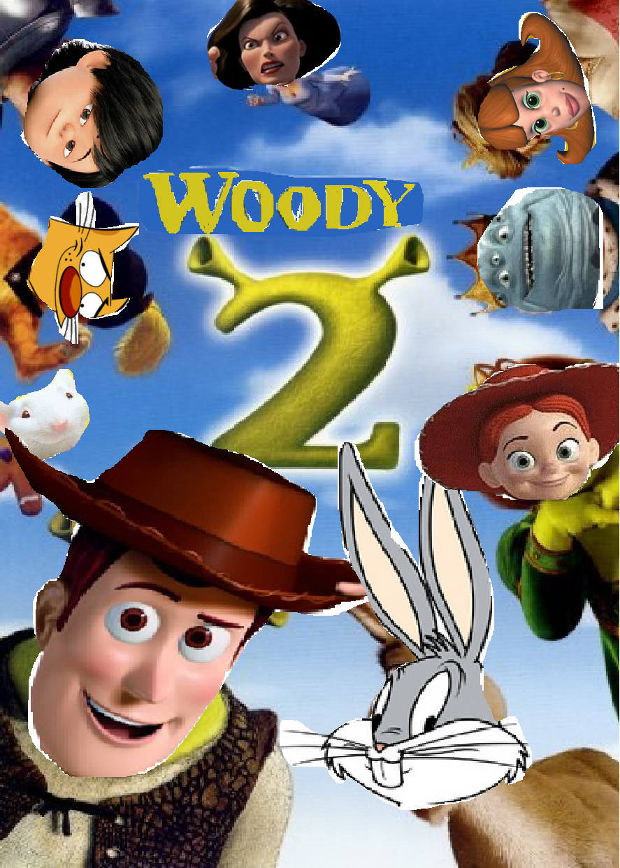 Image Woody 2 First Poster Png The Parody Wiki