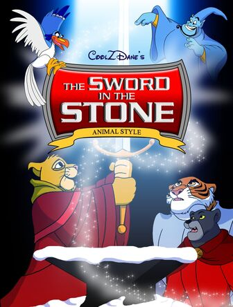 Sword in the Stone CoolZDane Animal poster