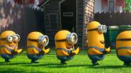 Minions with bananas