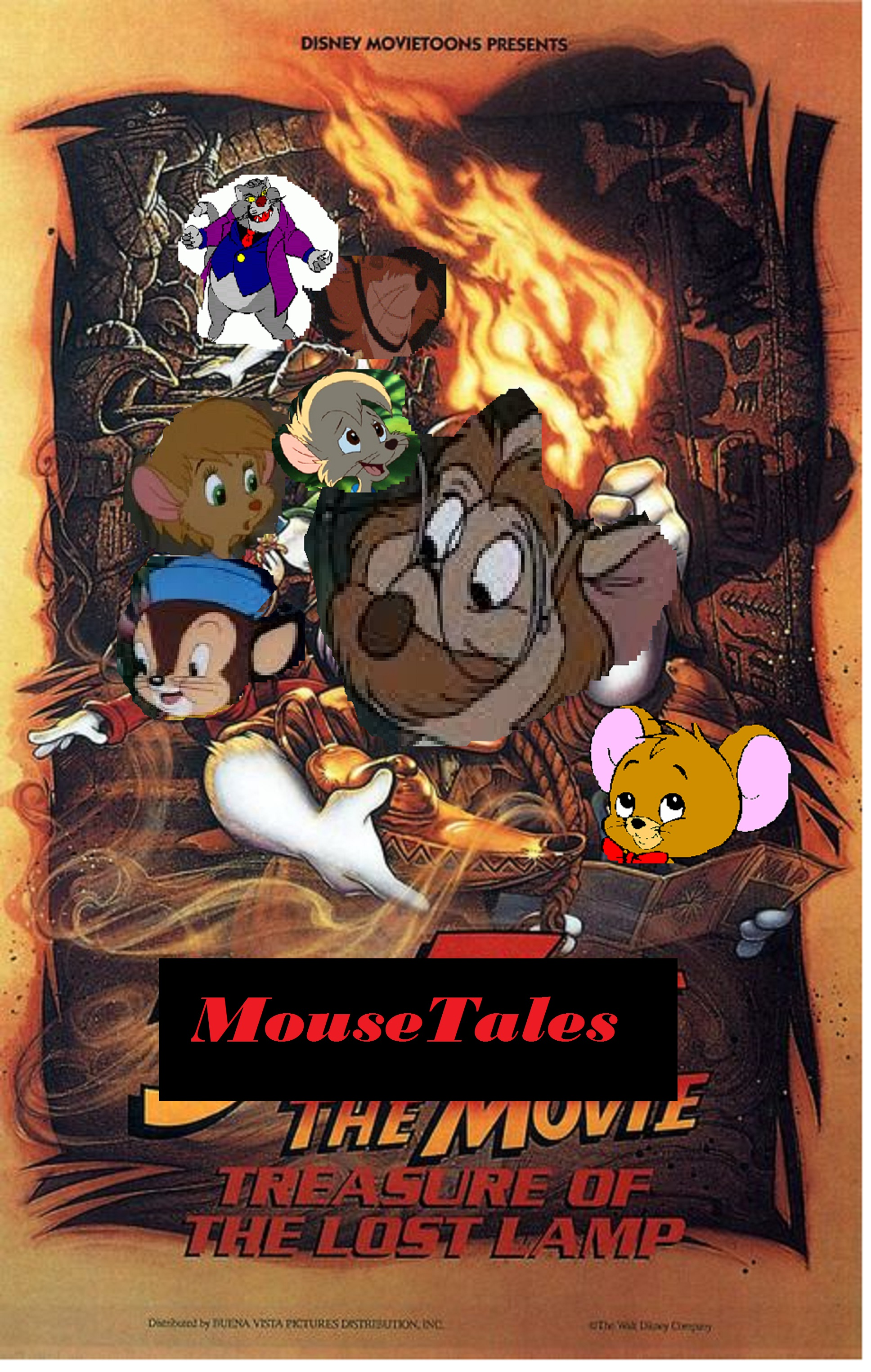MouseTales the Movie: Treasure of the Lost Lamp | The Parody Wiki ...