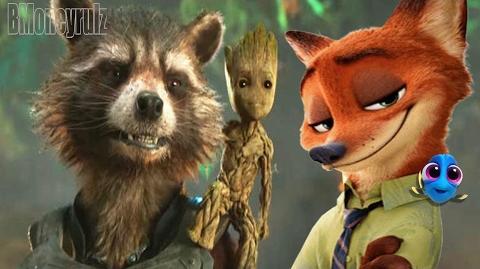 Disney Pixar's 'Guardians Of The Galaxy Vol 2' Superbowl Mash-Up Trailer Parody