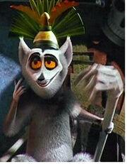 King Julien as Dweeb