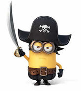 Pirate minion 1