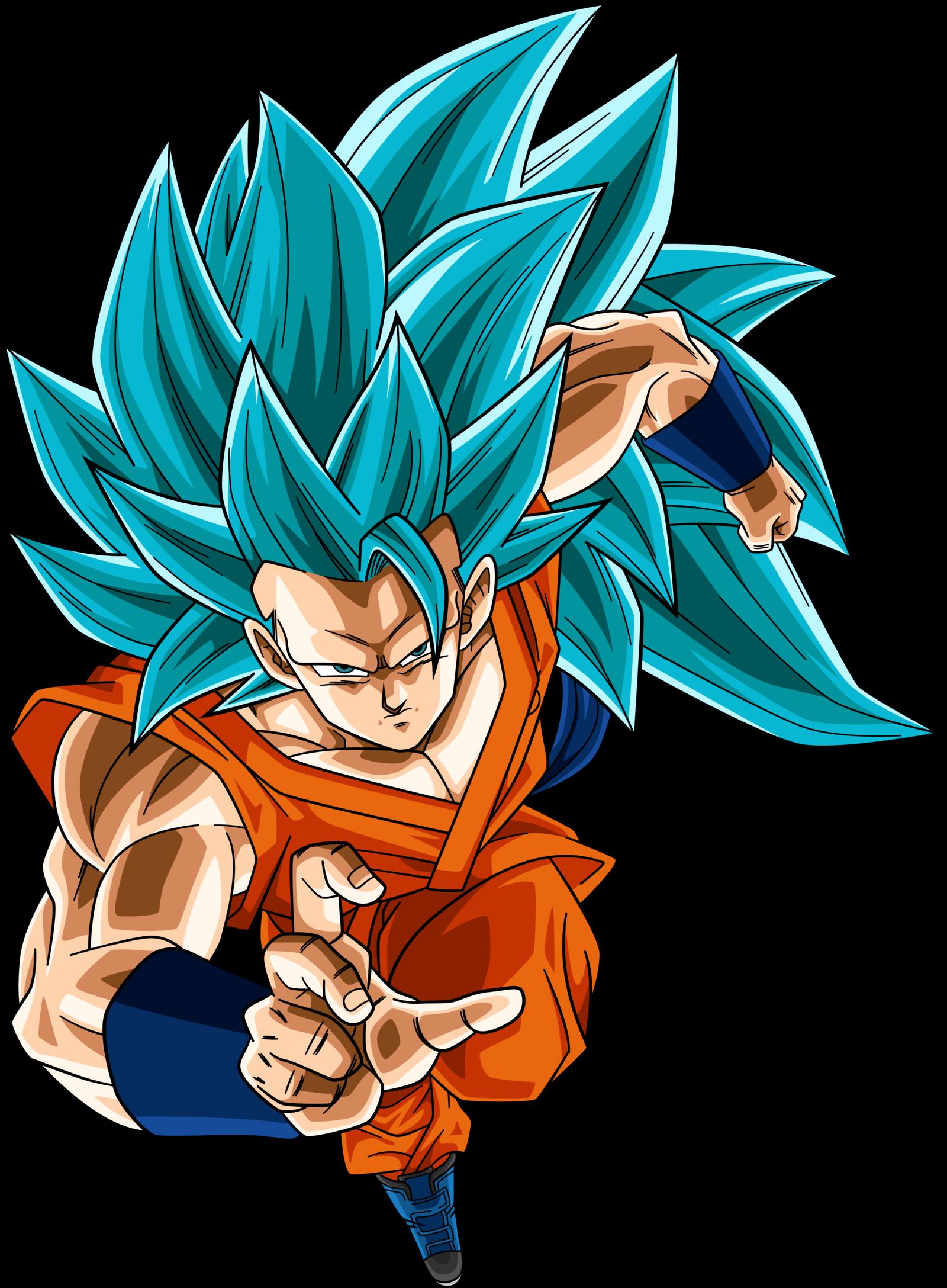 Image super saiyan blue 3 goku dragonball super by - Dragon ball z super sayen ...
