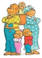 Papa Bear, Mama Bear, Brother Bear and Sister Bear