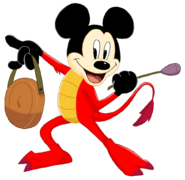 Mickey Mouse as Mushu