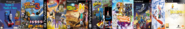 Thomas 3, Card Escape 3, Ten Cents 3, Arnold and Courage 3, Theodore Tugboat 3, Little Big Planet 3, Sly Simpson 3, SSX 3, and Bart Simpson 3.