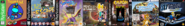 Thomas 1, Card Escape 1, Ten Cents the Dragon 1, Arnold and Courage 1, Little Big Planet 1, Theodore Bandicoot 1, Little Big Planet 1, and Sly Simpson 1.