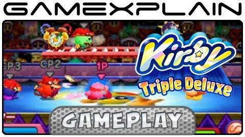 Kirby Triple Deluxe - Kirby Fighter Battle Mode (Gameplay - Japanese 3DS)-0