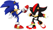 Sonic vs shadow sonic x render by jogita6-d5wo6xn
