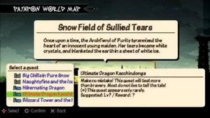 Ultimate Dragon Kacchindonga Quest Info