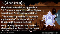 Arch item