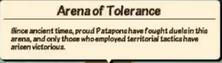 Arena of Tolerance 2