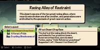 Racing Alley of Restraint