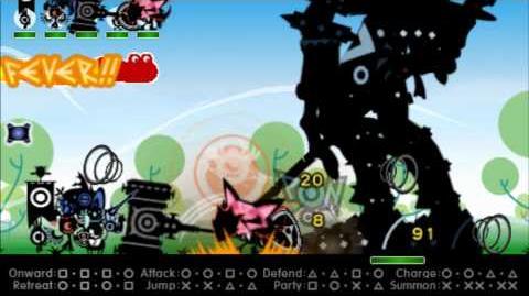 Patapon 3 The Legendary Gigantus Fail