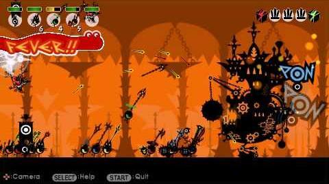 Patapon 2 - Underworld Machine Giant Kanogias