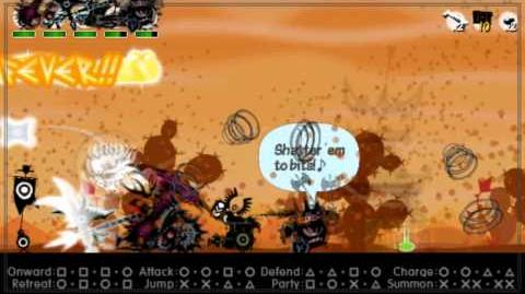 Patapon 3 Walkthrough pt 29 No Heavenly Bounty on a Scorched Desert