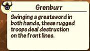 Grenburrdescription