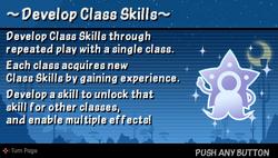 Develop class skills