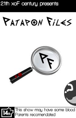 Patapon Files dvd box