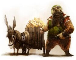 Dwarf merchant