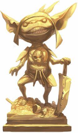 Gold goblin