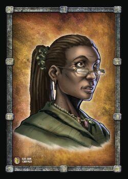 Laurel face card