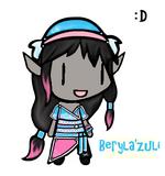 Beryla'zuli Chibi Lighter