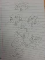 Tundra doodles