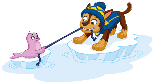 File:PAW Patrol Chase with the Baby Walrus Pup Winter 2.png