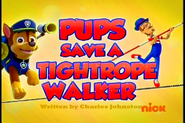 Pups Save a Tightrope Walker (SD)