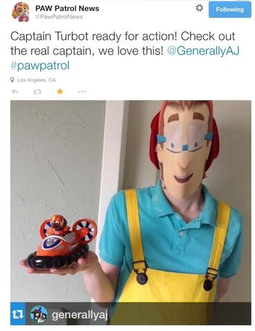 File:Nickelodeon Nick Jr PAW Patrol News PawPatrolNews Twitter Cap'n Captain Turbot Costume.jpg
