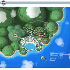 Early map of Adventure Bay from 2012.