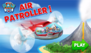 PAW Patrol Air Patroller! Game Scene 1