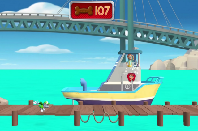 File:PAW Patrol Cap'n Turbot Captain on The Flounder - Rescue Run.png