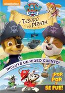 PAW Patrol Pups and the Pirate Treasure DVD Latin America
