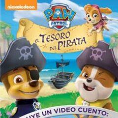 Latin American cover (<i>El tesoro del pirata</i>)