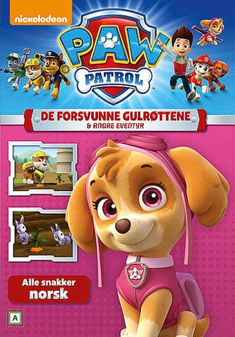 File:PAW Patrol De forsvunne gulrøttene & andre eventyr DVD.jpg