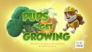 PAW Patrol Pups Get Growing Title Card