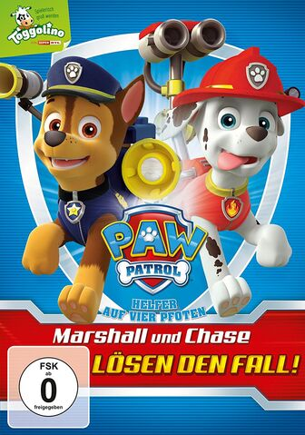 File:PAW Patrol Marshall and Chase on the Case! DVD Germany RTL.jpg