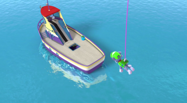 File:PAW Patrol Pups in a Fix Scene Rocky Flounder.png