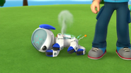 Oh no! Robo-Dog is damaged!