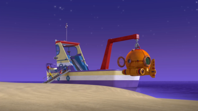 File:PAW Patrol The Flounder Boat with Diving Bell.png