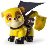 PAW Patrol Rubble Super Pup Figure