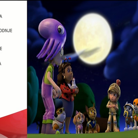 Credits from the episode
