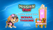 Mission PAW Pups Save the Royal Throne (HQ)