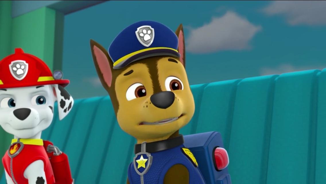 image   paw patrol pups save a school bus scene 9 marshall