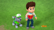 PAW Patrol Pups Save a Lucky Collar Ryder Rocky