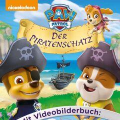 German Nickelodeon cover (<i>Der Piratenschatz</i>)
