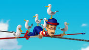 PAW Patrol Pups Save a Tightrope Walker Francois Turbot Seagulls